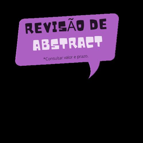 Revisão de texto- abstract