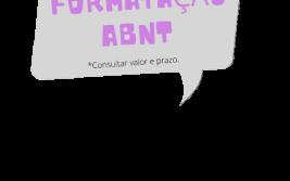 formatação ABNT